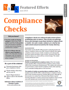 Thumbnail image of Kanabec County Compliance Checks Fact Sheet