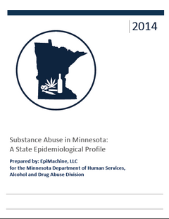 Cover of the 2014 Minnesota State Epidemiological Profile PDF
